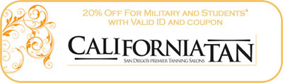 20% off for military and students
